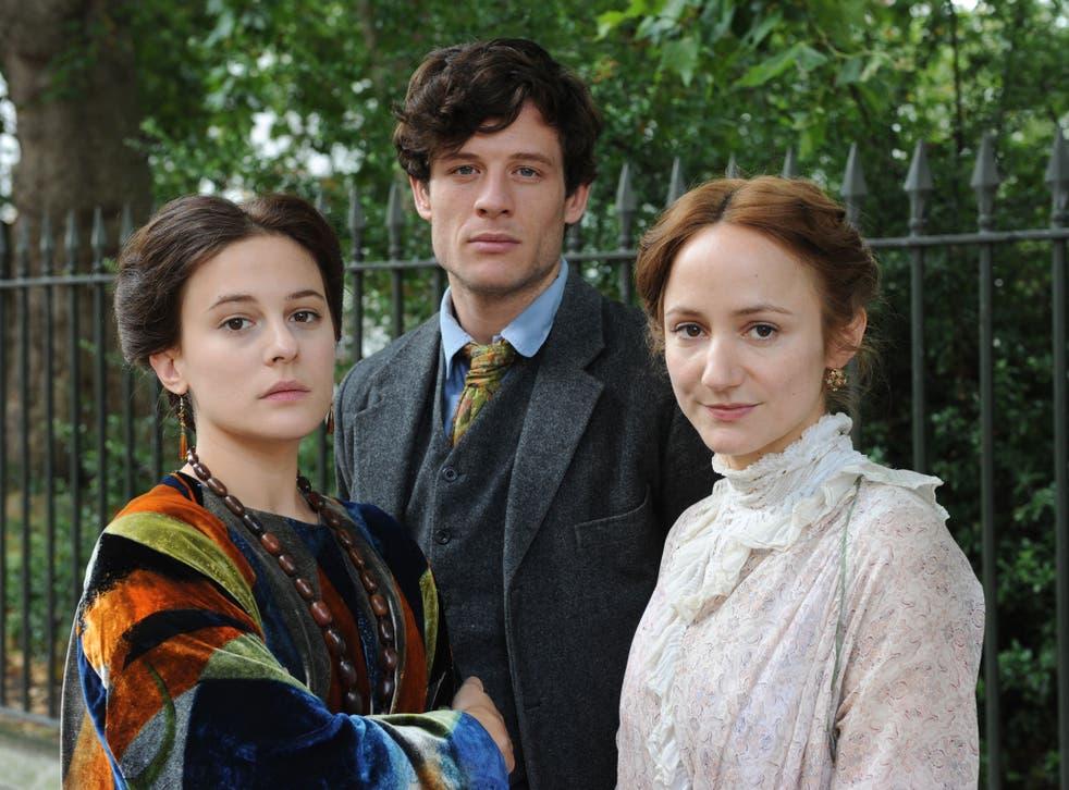 Cast members Phoebe Fox, James Norton and Lydia Leonard