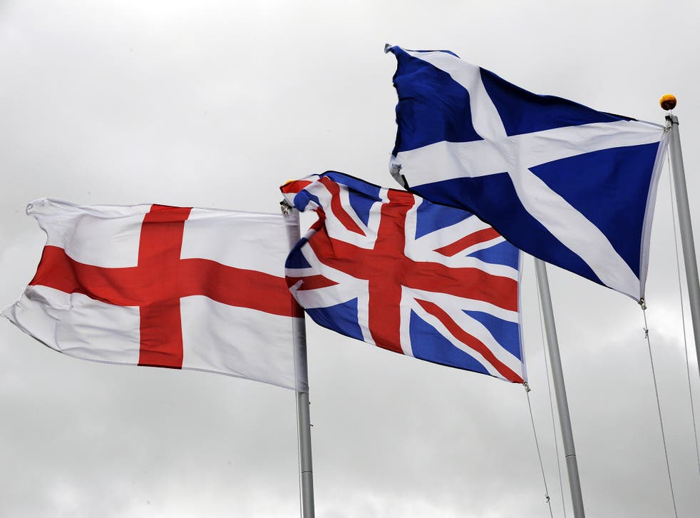 Only 19 per cent of English people surveyed favour separation