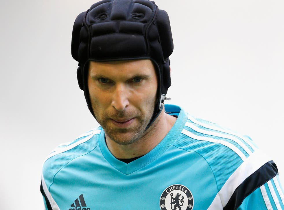 Petr Cech has lost his place to Thibaut Courtois