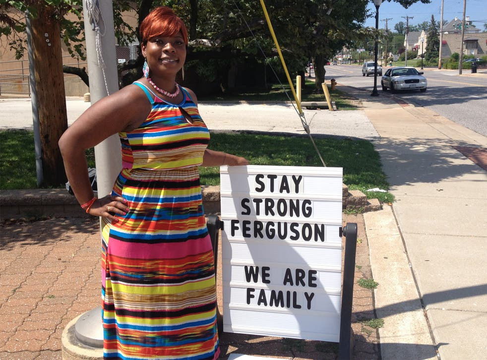 Jernetta Conner says she may be forced to move her family away from Ferguson if the civil unrest continues