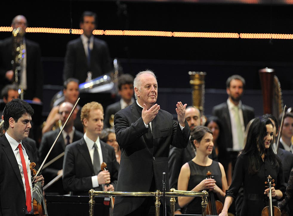 Daniel Barenboim conducts Prom 46