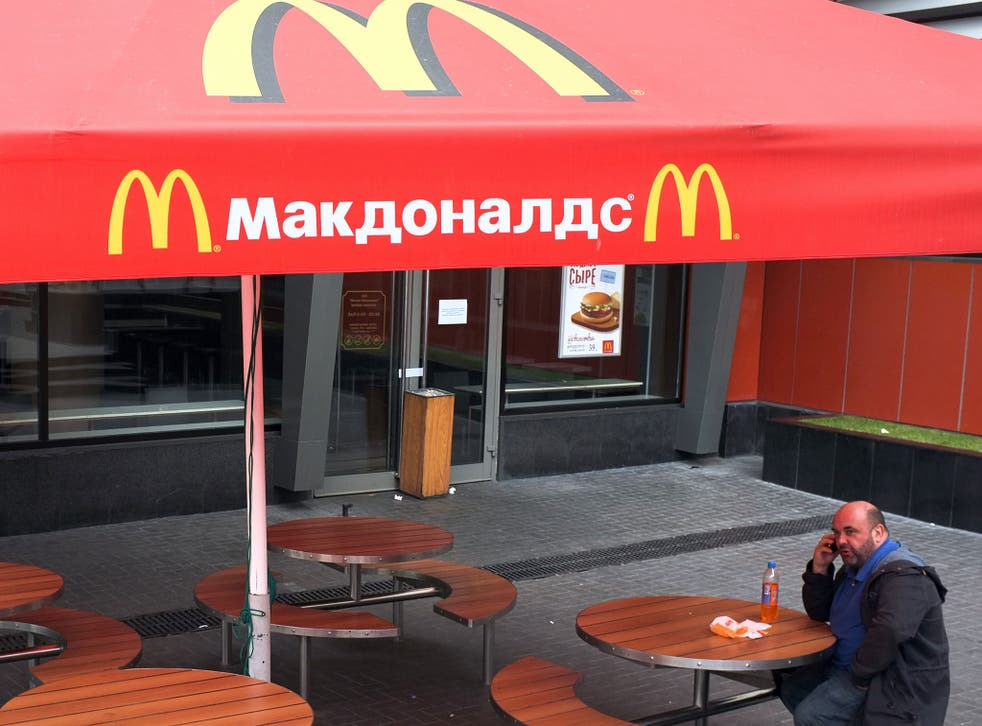 Russian authorities shuttered four Moscow McDonald's due to alleged sanitary violations on August 20, 2014, including a restaurant that once symbolised reviving Soviet-US ties, as tensions sizzled over Ukraine