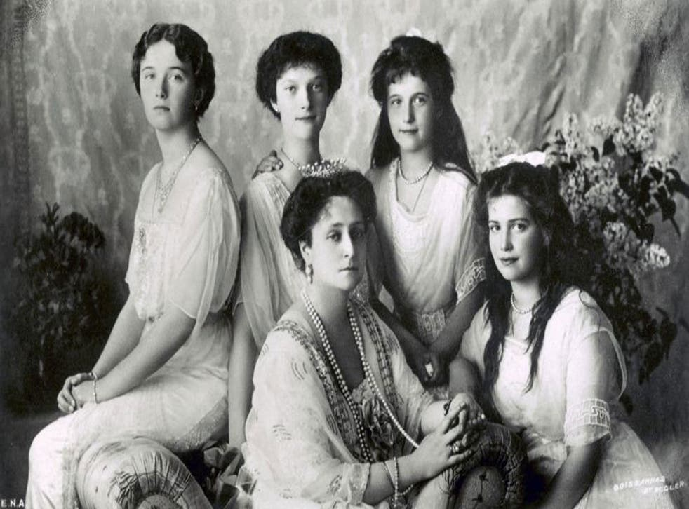 Olga, Tatiana, Maria and Anastasia were described as 'the most photographed princesses of their time'