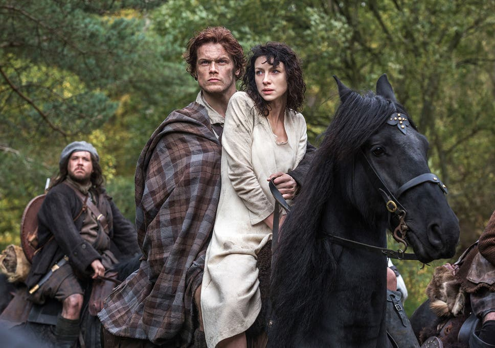 Outlander star Sam Heughan on why sex is so central to Amazon