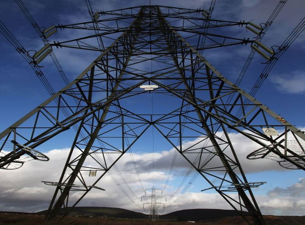 Grid lock: Labour is threatening to get tough with power companies under a new regulatory regime