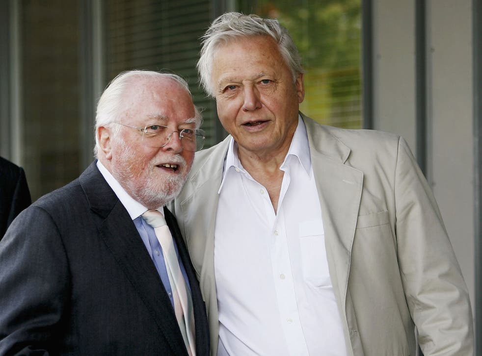 Brothers in art: Sir David Attenborough and Richard Attenborough