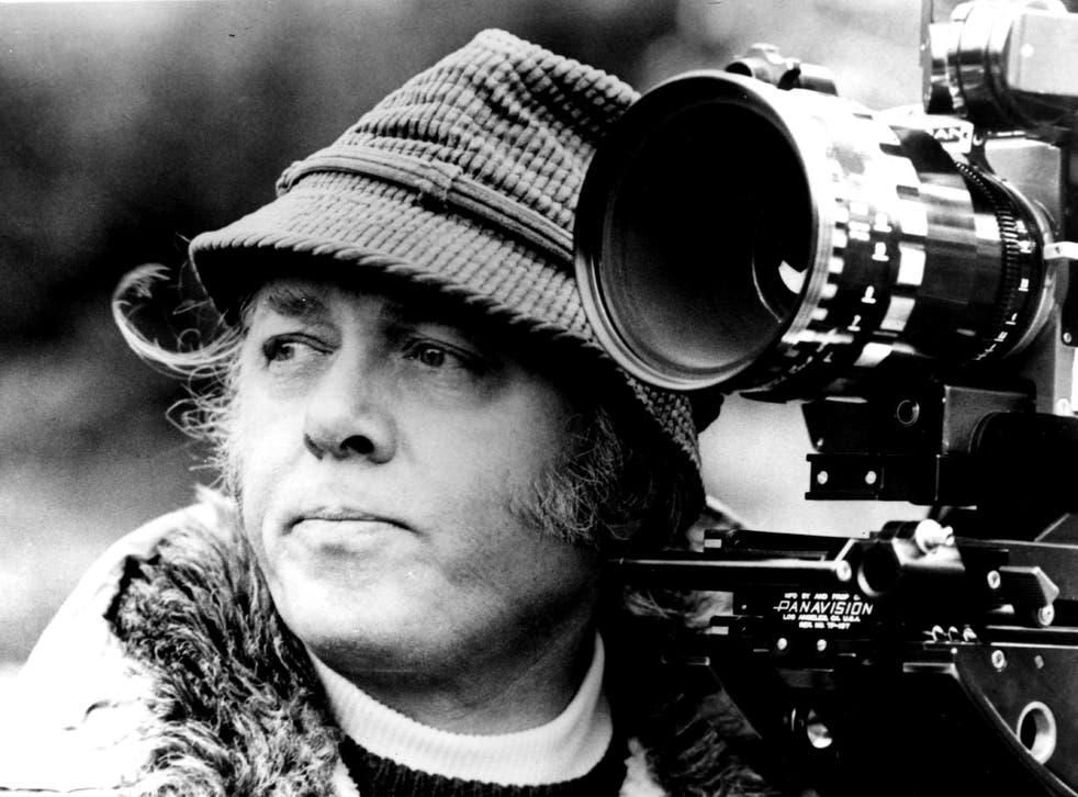 Richard Attenborough shooting his film 'Magic' in 1979