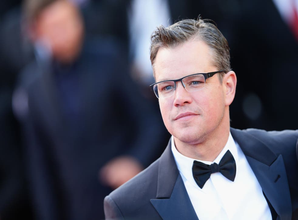 """Matt Damon said using clean water in the ice bucket challenge """"posed a problem"""" for him - so he used toilet water"""