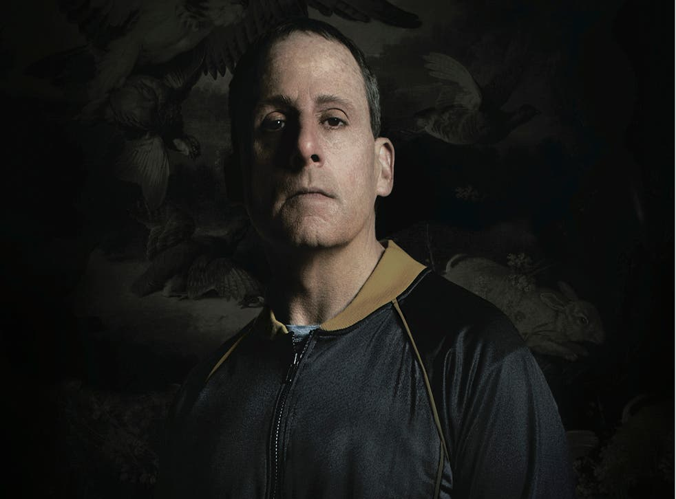 Steve Carell in the poster for new film 'Foxcatcher'