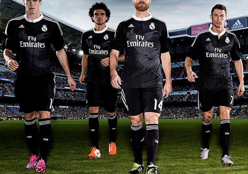 competitive price 7d067 0aac8 Real Madrid release third kit complete with dragons to ...
