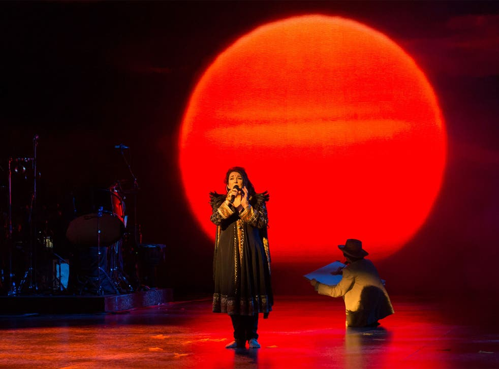 Ambitious and genuinely moving: Kate Bush at the Hammersmith Apollo