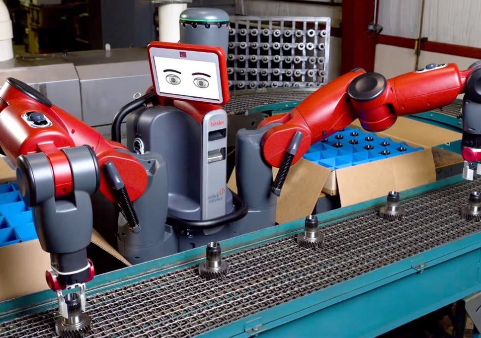 Human workers aren't just happy to take orders from robots in the ...