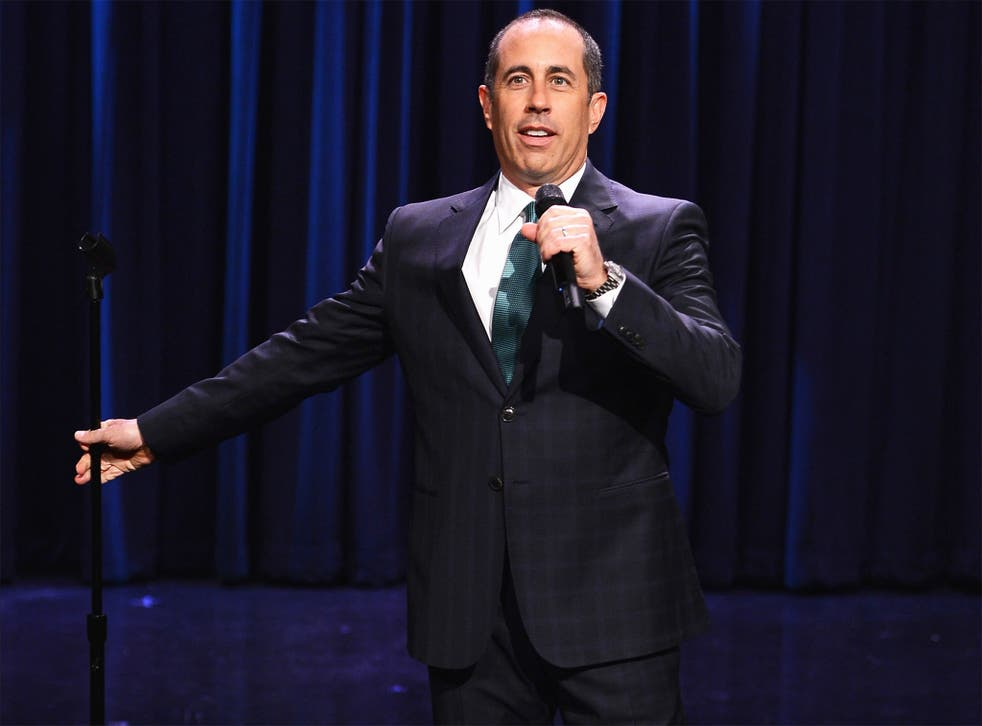 Jerry Seinfeld performing on 'The Tonight Show' this year