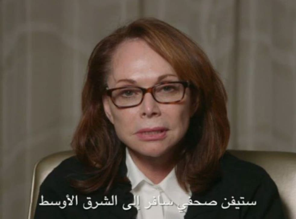 Shirley Sotloff, who lives in Florida, appeals to the captors of her son, freelance journalist Steven Sotloff