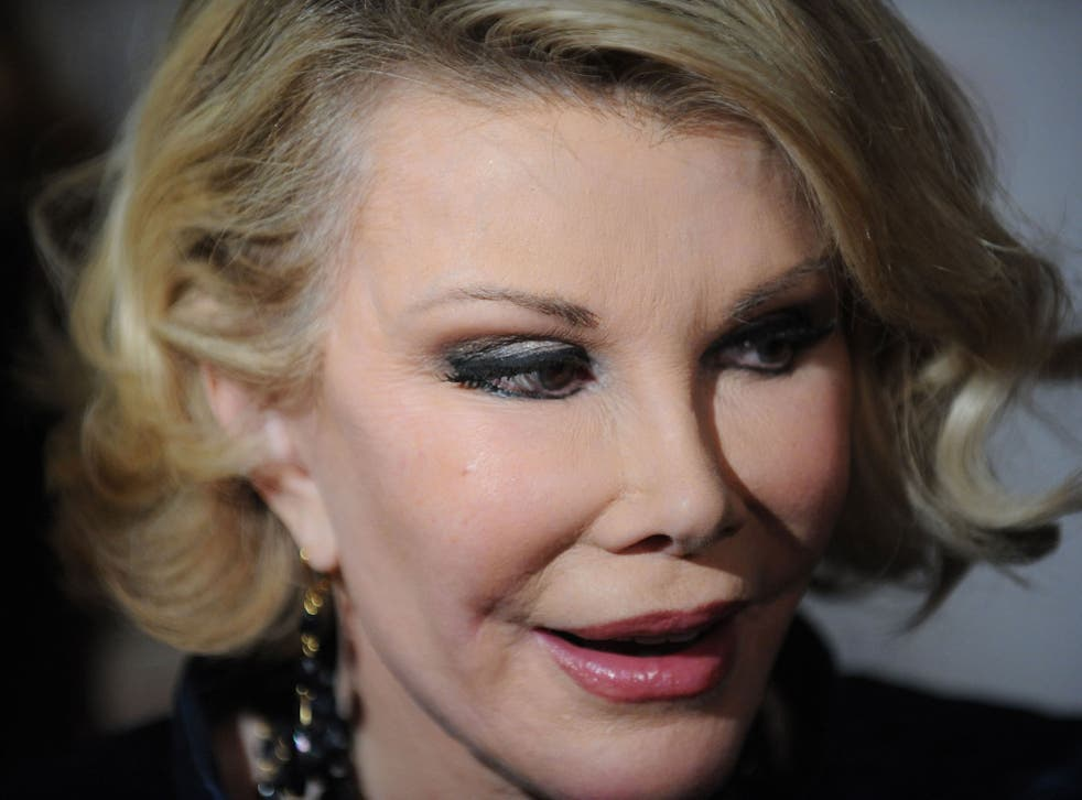 Joan Rivers pictured in 2009