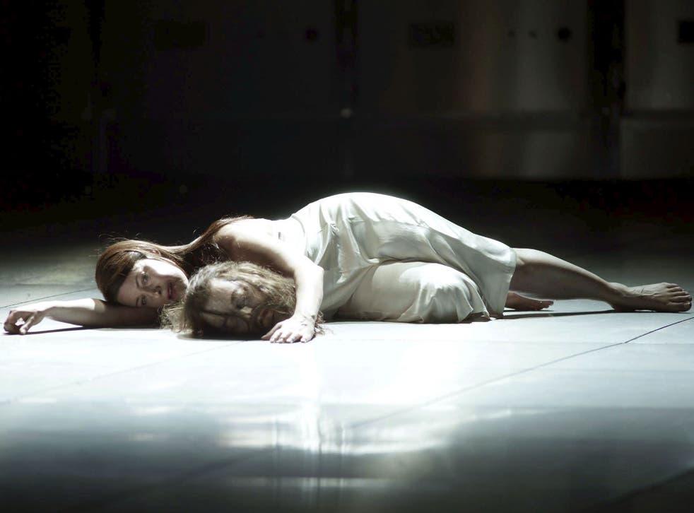 Terrible revenge: Soprano Nina Stemme in Strauss's Salome in Spain in 2010