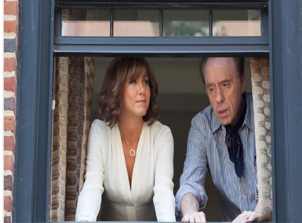 Jennifer Aniston and Peter Bogdanovich star in She's Funny That Way