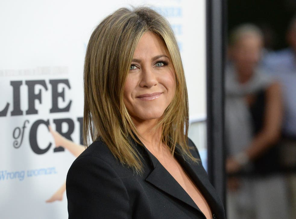 Jennifer Aniston at the premiere of Life of Crime in 2014.