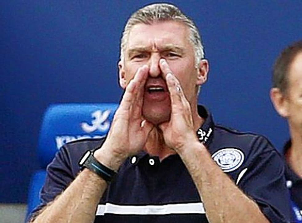 Nigel Pearson reacts on the touchline