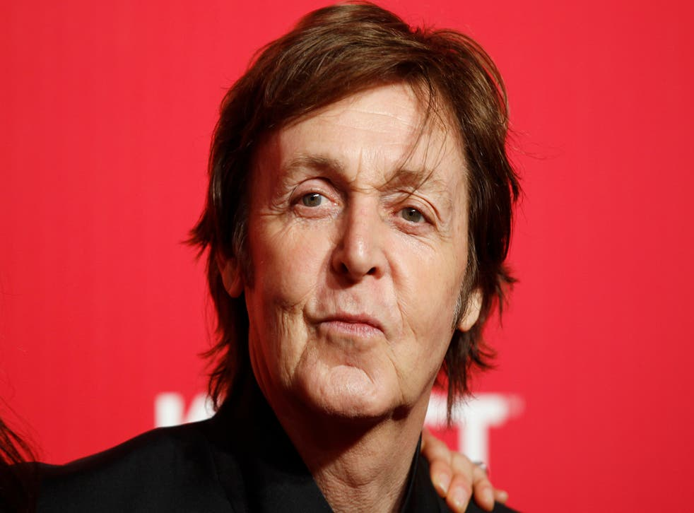 """Paul McCartney backs the """"no"""" campaign in the Scottish referendum"""