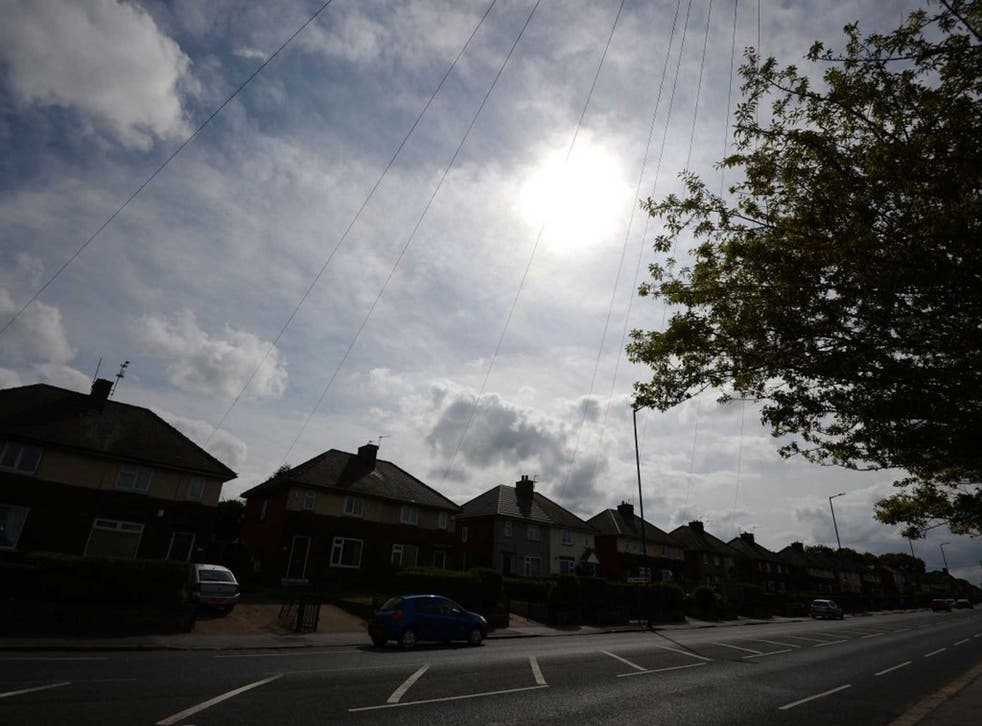 A street in Rotherham, where the Jay report has exposed the abuse of 1400 children