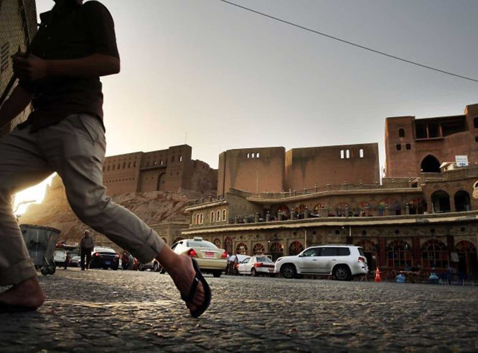 Beaten track: Erbil attracts tourists prepared to ignore Foreign Office advice