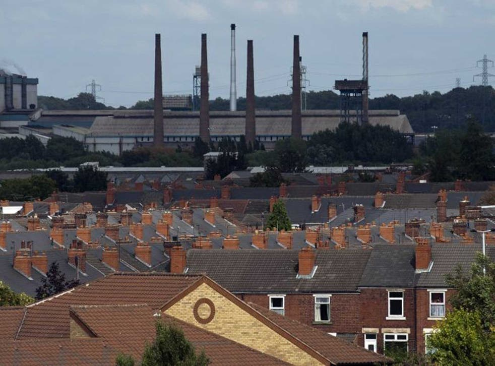 A view over Rotherham