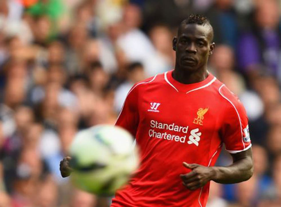 Mario Balotelli's Liverpool debut lasted 60 minutes