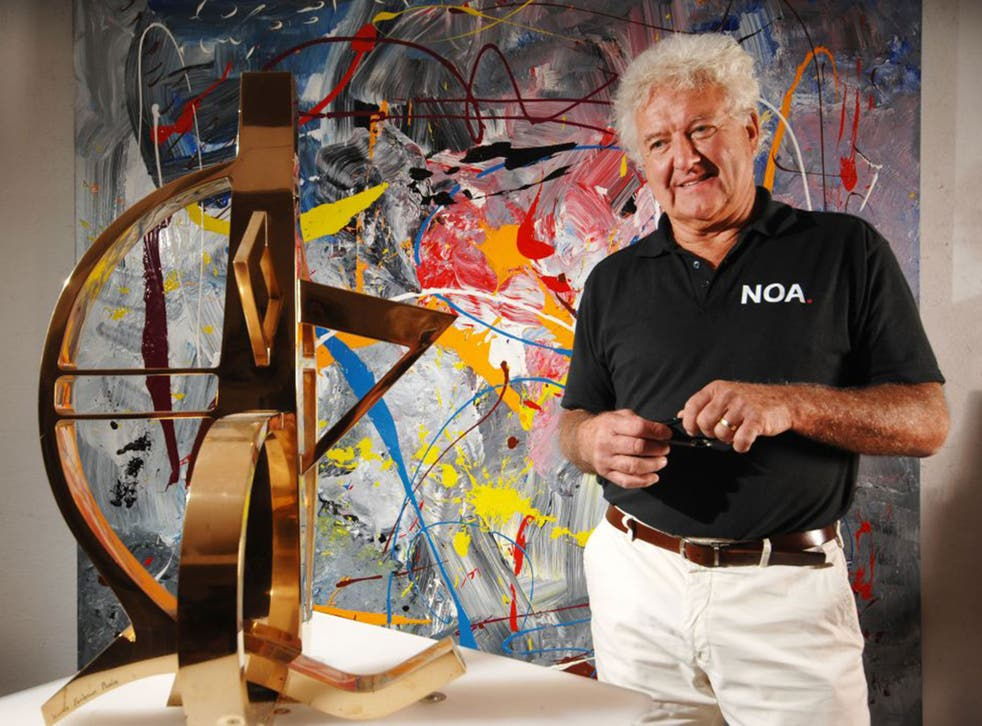 Neil Lawson Baker in his studio near Chichester: 'Originally I wanted to be a doctor'