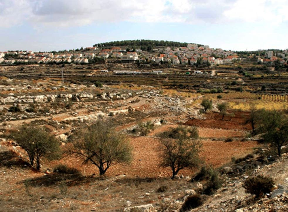 """The land to be appropriated is in the Etzion settlement bloc near Bethlehem. Israel has declared it """"state land, on the instructions of the political echelon"""""""