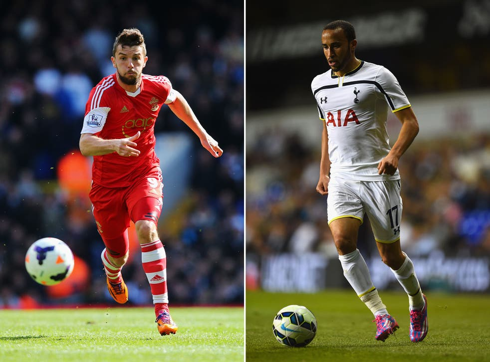 Jay Rodriguez and Andros Townsend