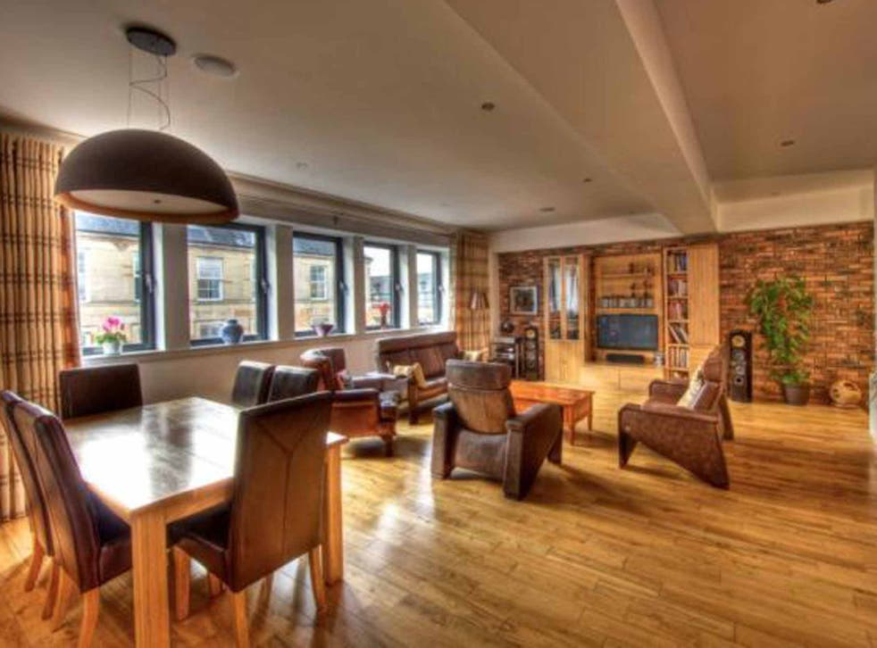 Two bedroom flat for sale, James Morrison Street, Gallowgate, Glasgow G1. On with Slater Hogg and Howison for offers in region of £220,000