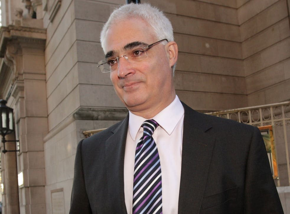 Alistair Darling has requested a meeting with Police Scotland to discuss security arrangements (Getty)