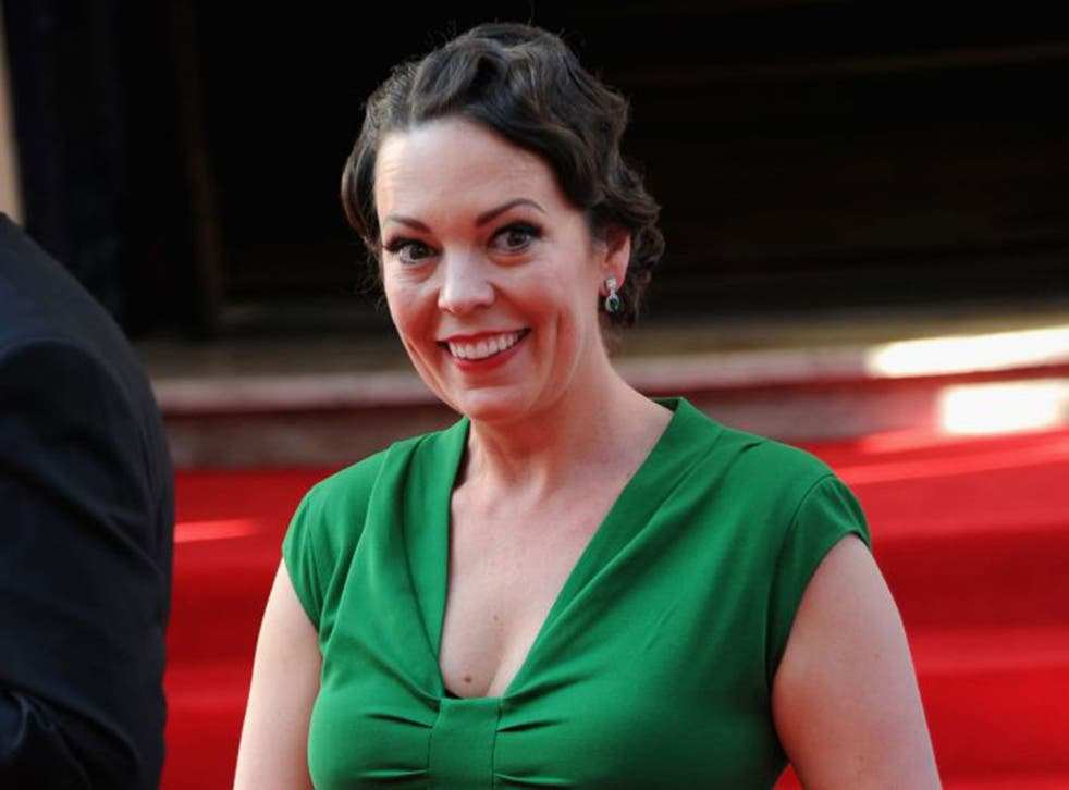 Olivia Colman topped the list of the 30 most influential females in broadcasting