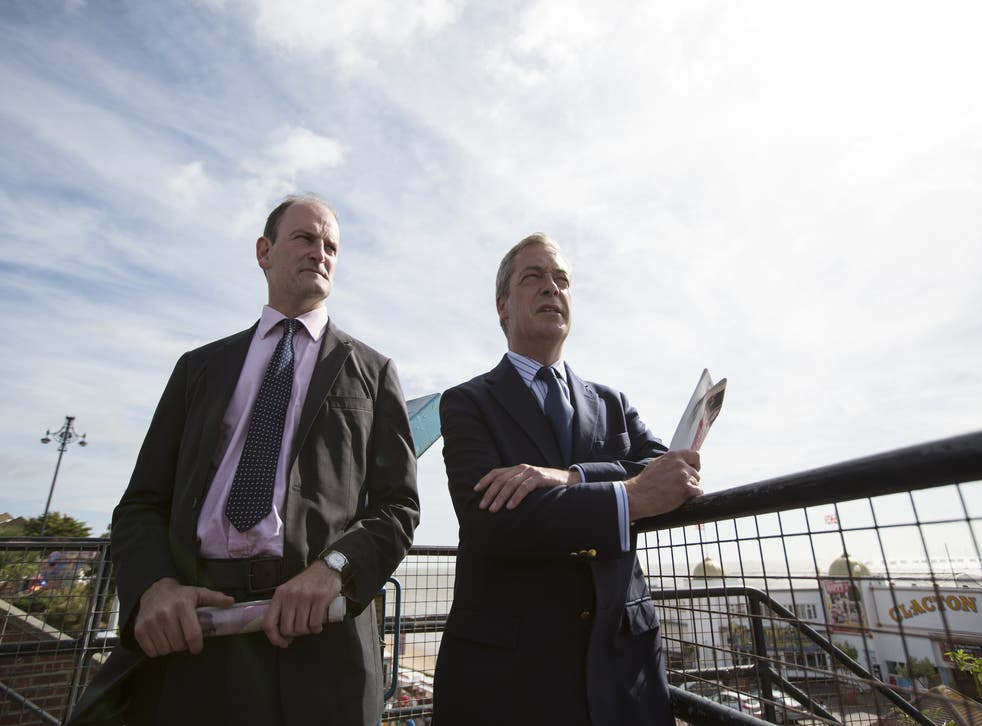 A second poll puts Ukip in the lead at Clacton by-election