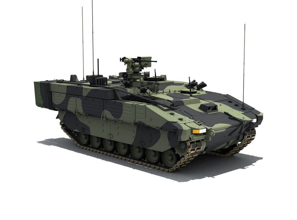 The British Army has signed a £3.5 billion deal for nearly 600 of the new armoured vehicles
