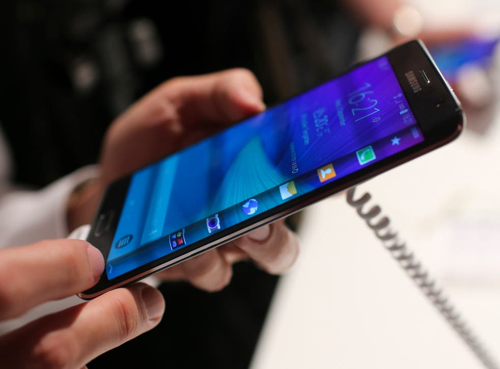 Samsung's Galaxy Note Edge (pictured) is one of the few smartphones that are 4G+ compatible.