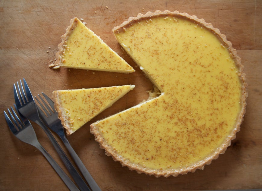 great british bake off egg custard tart recipe the