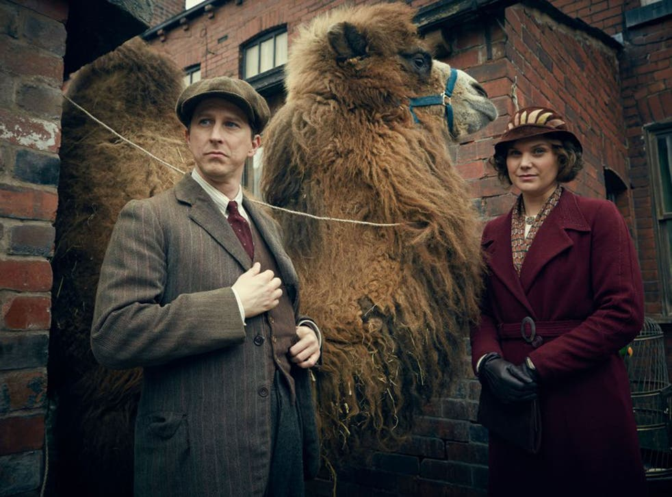 Going wild: Lee Ingleby and Liz White in 'Our Zoo'