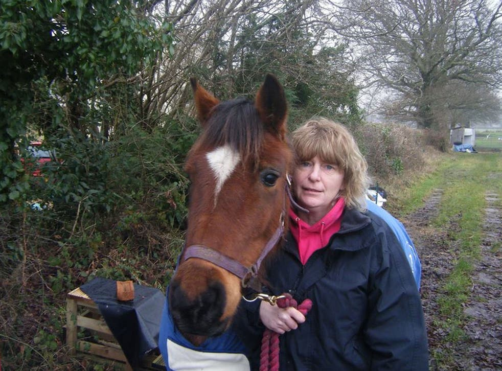 Detectives from Hampshire Constabulary say they believe Penelope Anne Davis, 47, was tending her horse shortly before she was killed