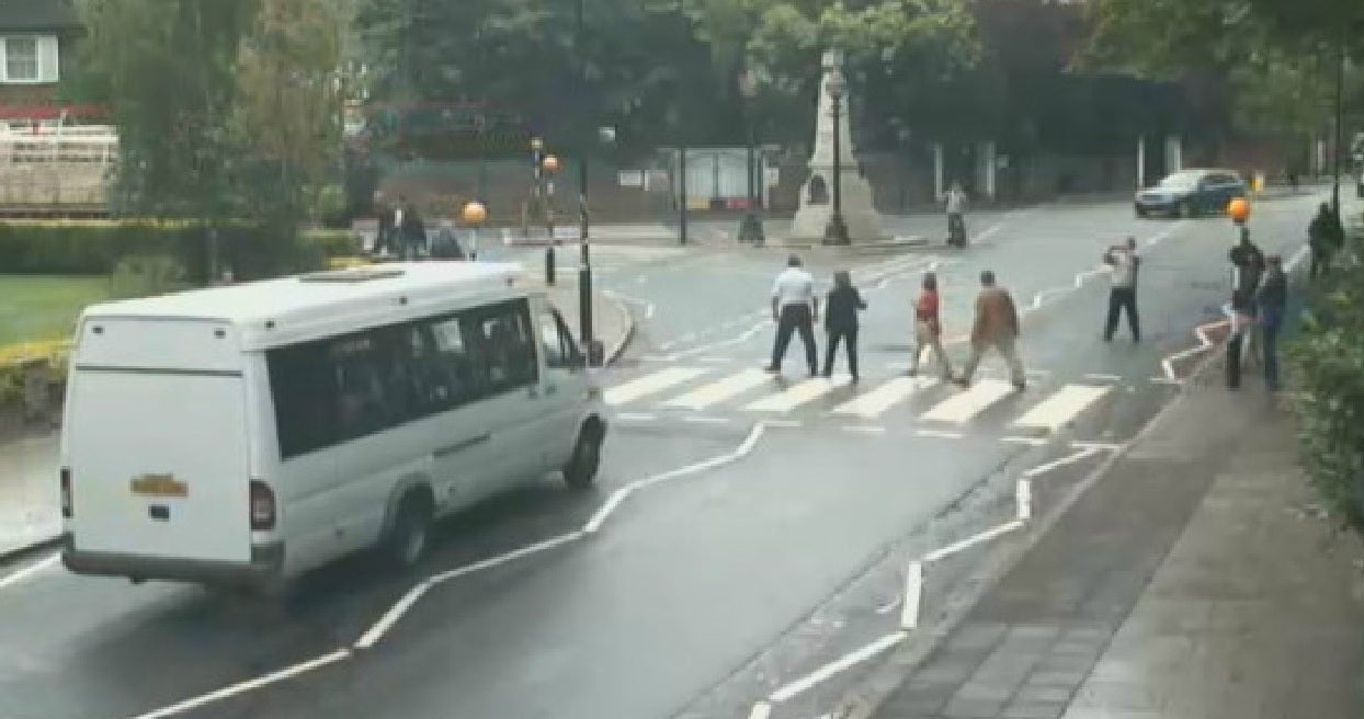 Abbey Road zebra crossing live feed lets you watch Beatles fans piss off motorists 24/7