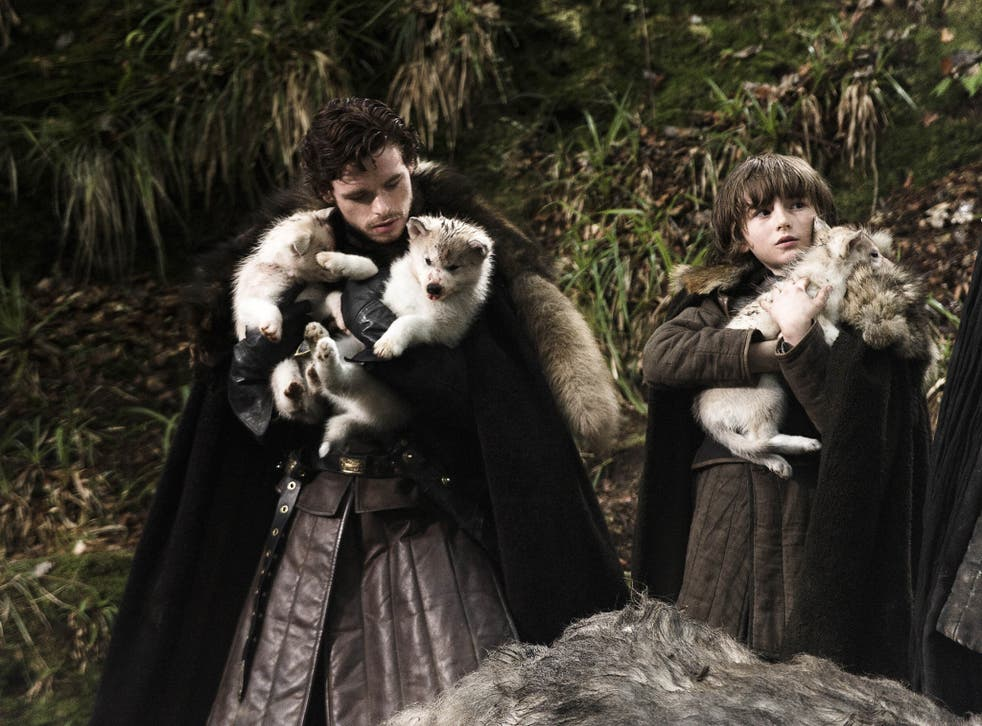 Siberian huskies and other wolf-like breeds have become popular thanks to 'aGame of Thrones' and 'Twilight'