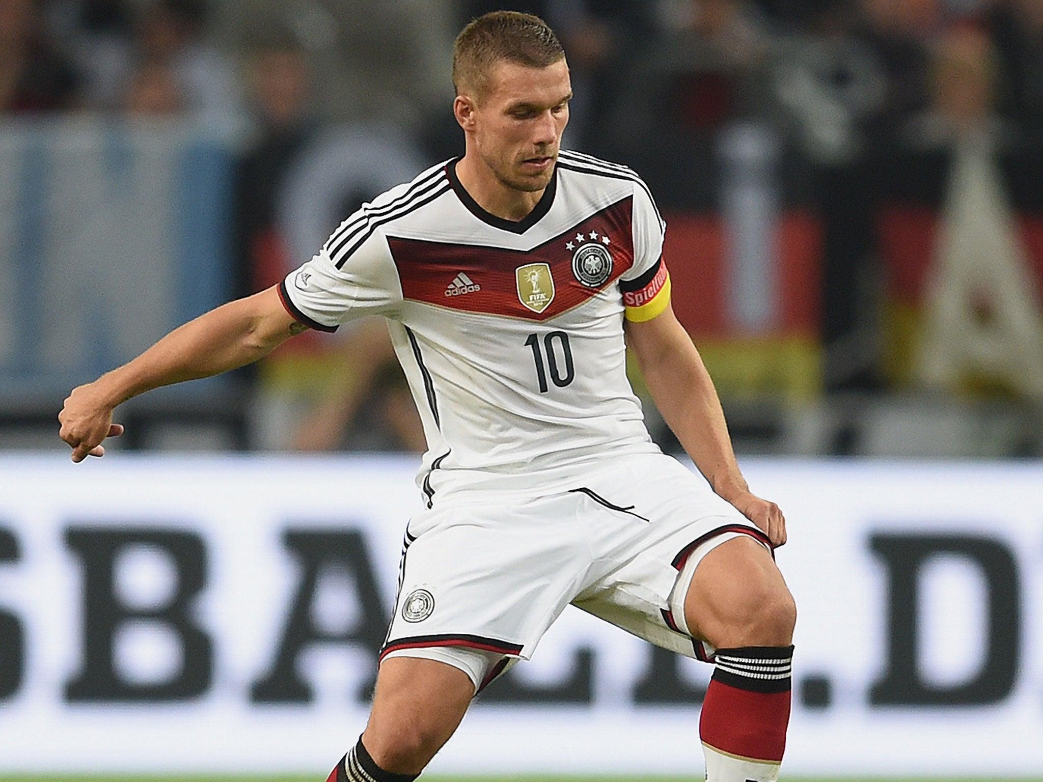 Lukas Podolski Lied