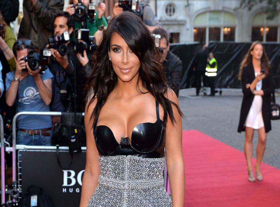 Kim Kardashian appears to have been targeted by hackers
