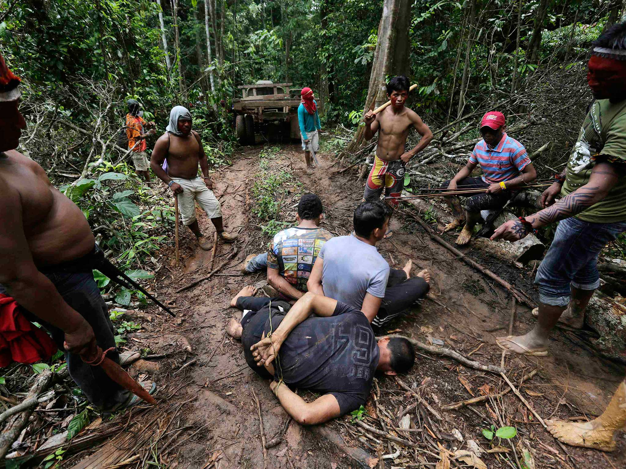 Indigenous sex in the jungle