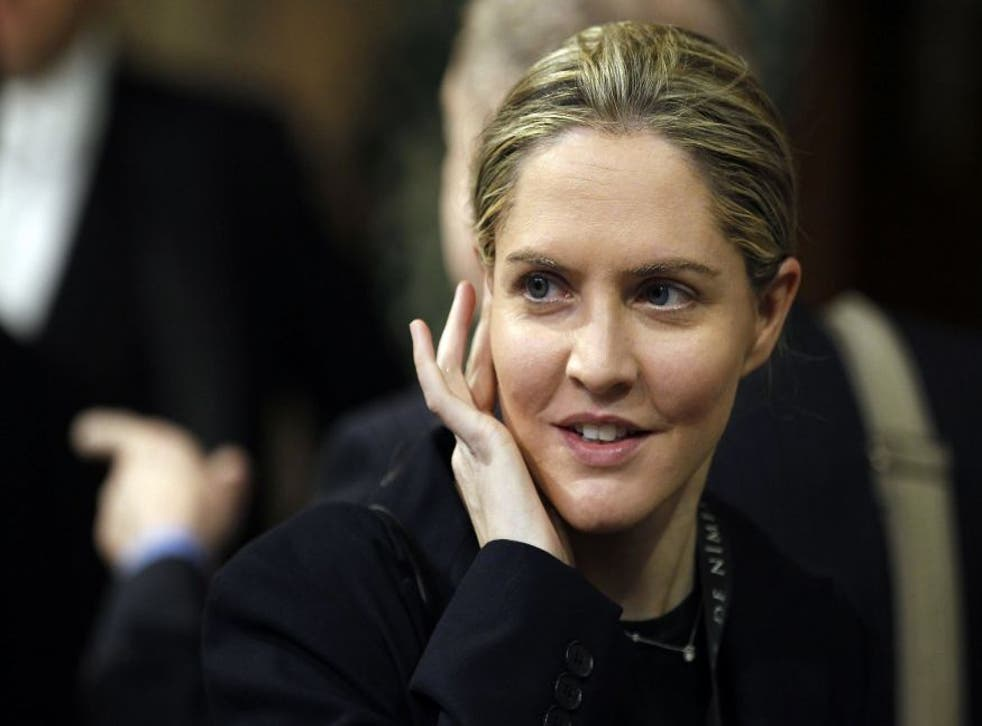Louise Mensch has taken to twitter to voice her opinions on Cathy Newman and the Streatham mosque