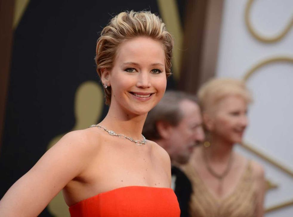 Photos of actress Jennifer Lawrence were published on the internet