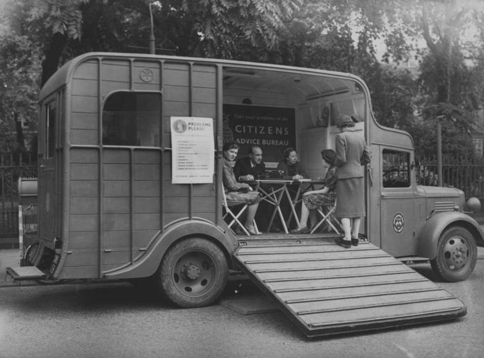 A mobile CAB in 1941