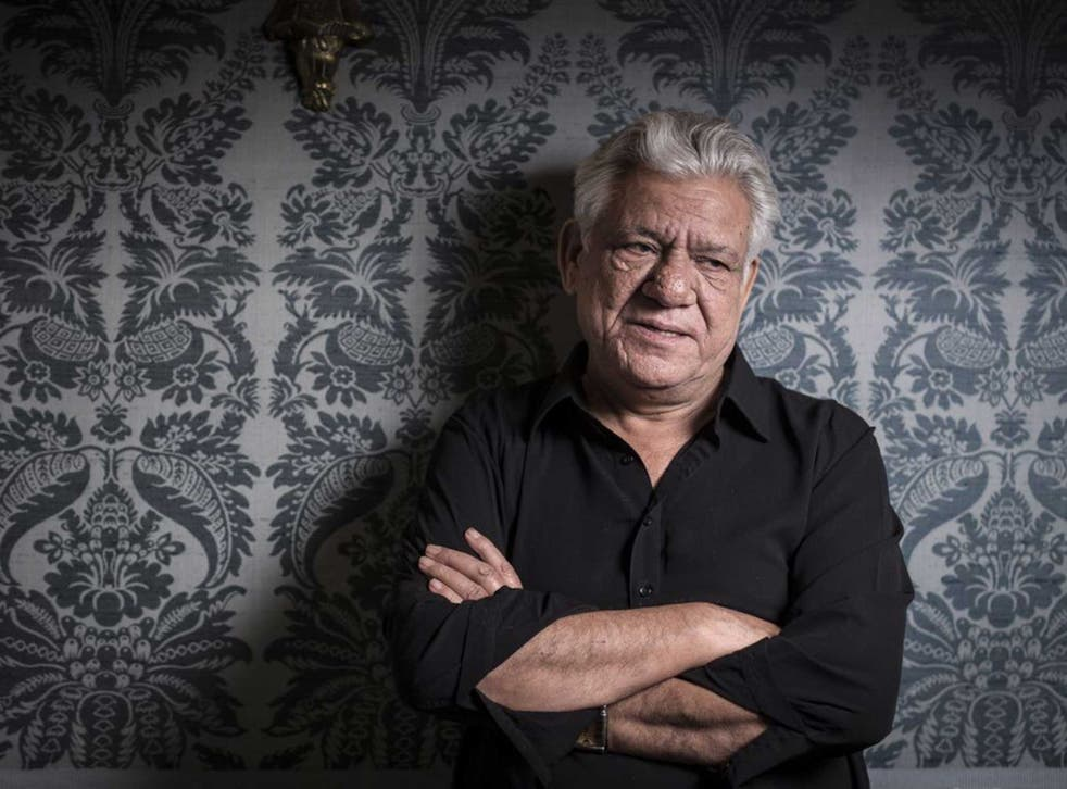 Om Puri is best known for his Bafta-nominated role as George Khan in the 1999 comedy-drama film East Is East