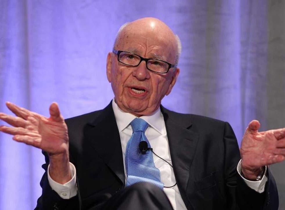 Media baron Rupert Murdoch owns News Corps and 20th Century Fox